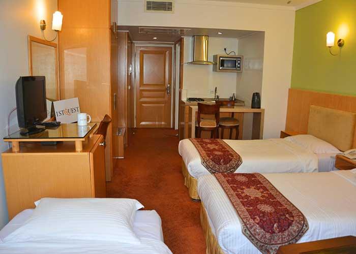 اتاق هتل ساینا تهران
