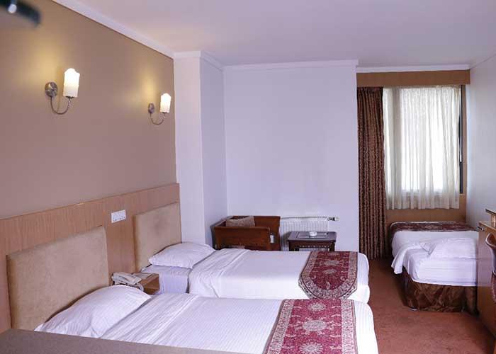 تصاویر اتاق هتل ساینا تهران