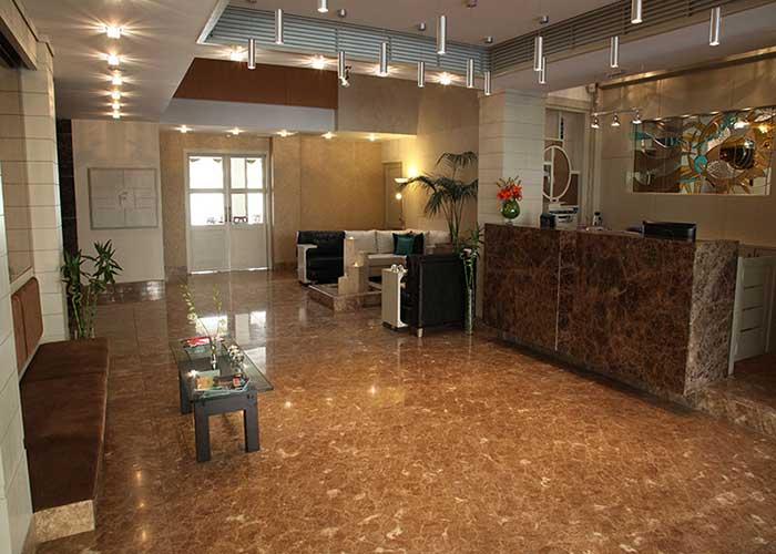 پذیرش هتل ساینا تهران