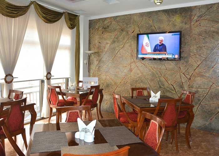 رستوران هتل ساینا تهران