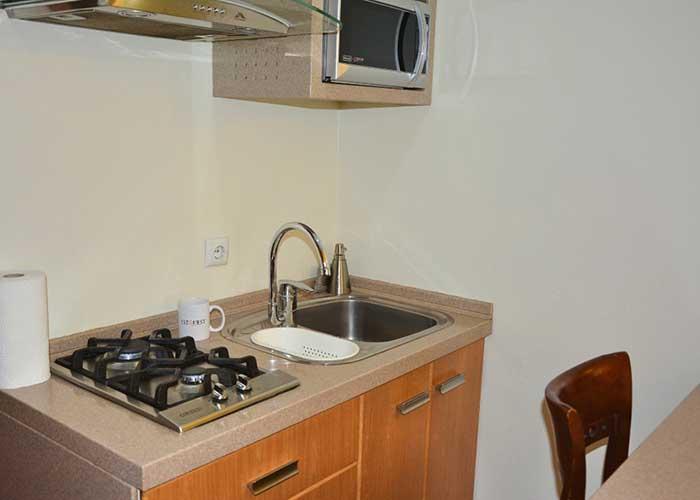 آشپزخانه اتاق هتل ساینا تهران