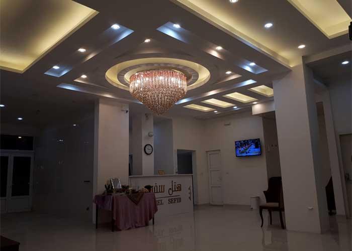 پذیرش هتل آپارتمان سفید بندر عباس