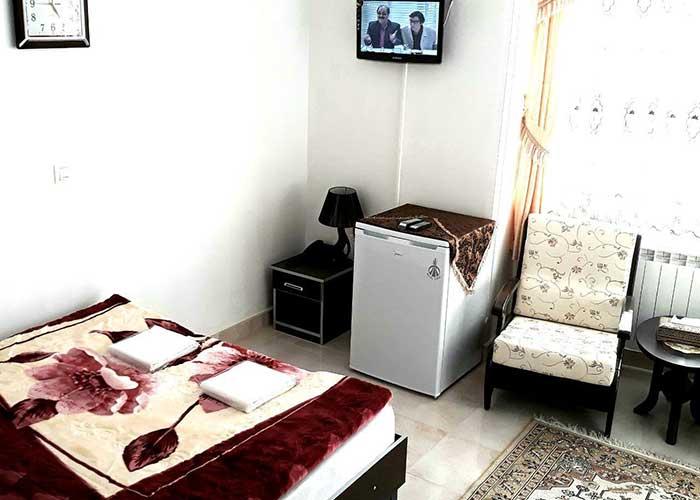 اتاق دو تخته هتل صحت سرعین