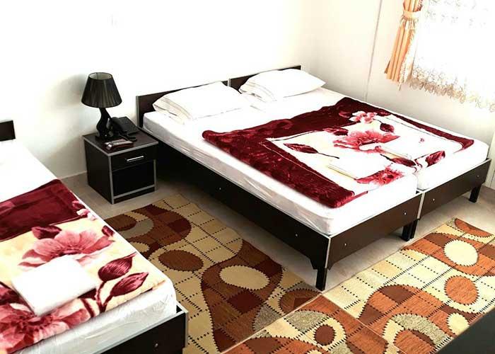 اتاق سه تخته هتل صحت سرعین