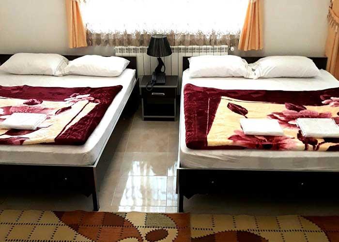 اتاق چهار تخته هتل صحت