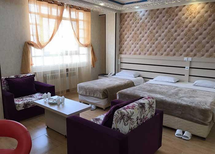 سه تخته هتل سپاهان اصفهان