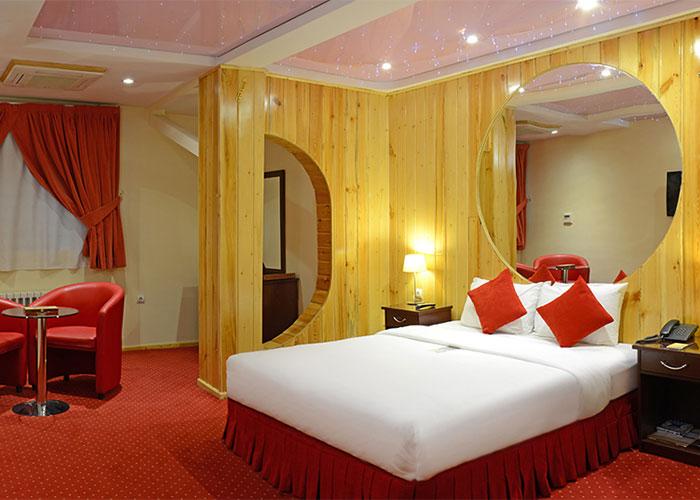 دو تخته هتل ستارگان شیراز