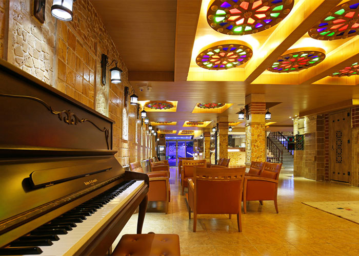 لابی هتل ستاگران شیراز