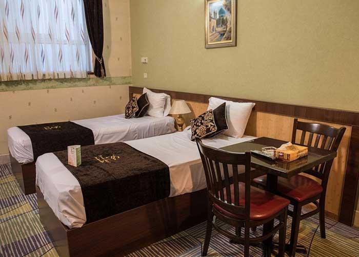 دو تخته توئین هتل ستاره اصفهان