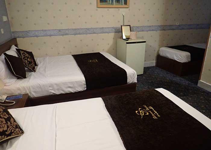 سه تخته هتل ستاره اصفهان