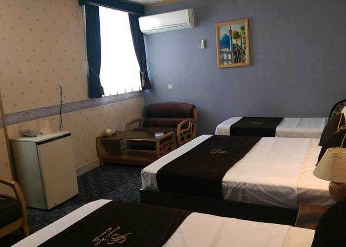 چهار تخته هتل ستاره اصفهان