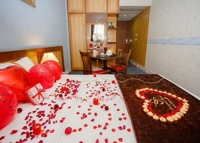 اتاق تزئین شده هتل ستاره اصفهان