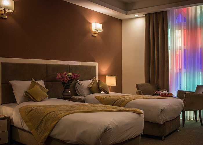اتاق دو تخته توئین هتل شهر تهران