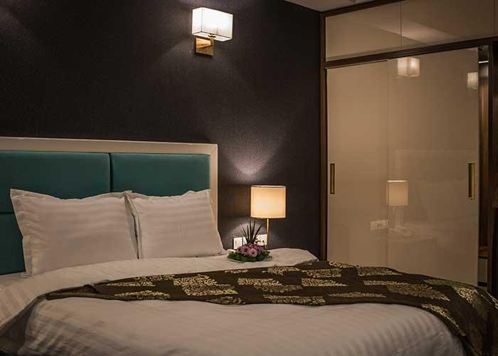 اتاق دو تخته دبل هتل شهر تهران