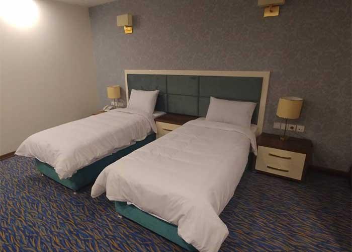 اتاق دو تخته هتل شهر تهران