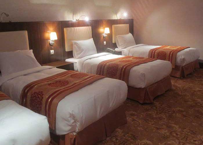 اتاق چهار تخته هتل شهر تهران
