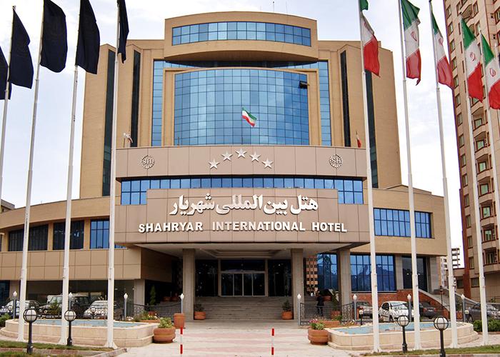 ساختمان هتل شهریار تبریز