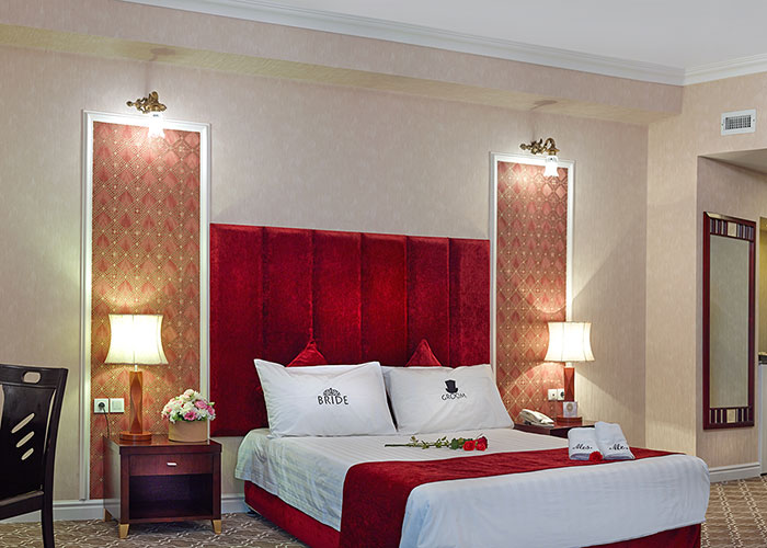 اتاق دو تخته هتل شهریار تبریز