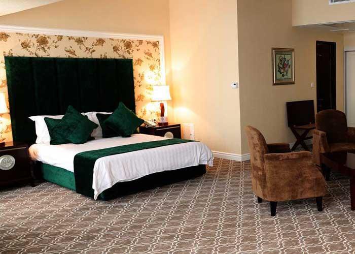 اتاق دوتخته دبل هتل بین المللی هتل شهریار