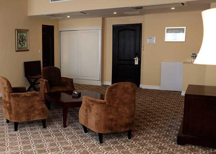 مبلمان داخل اتاق هتل شهریار تبریز