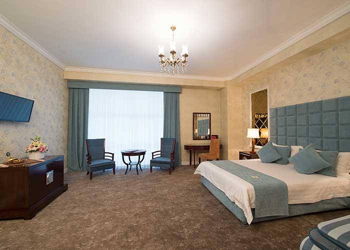 اتاق دو تخته دبل هتل بین المللی شهریار تبریز