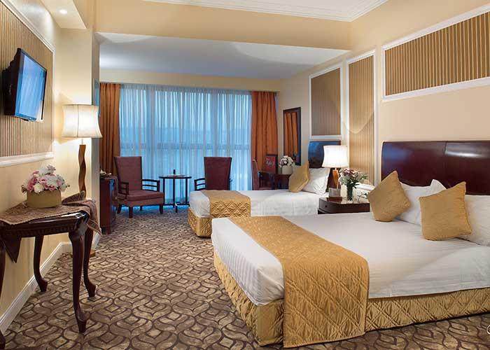 اتاق سه تخته هتل شهریار تبریز