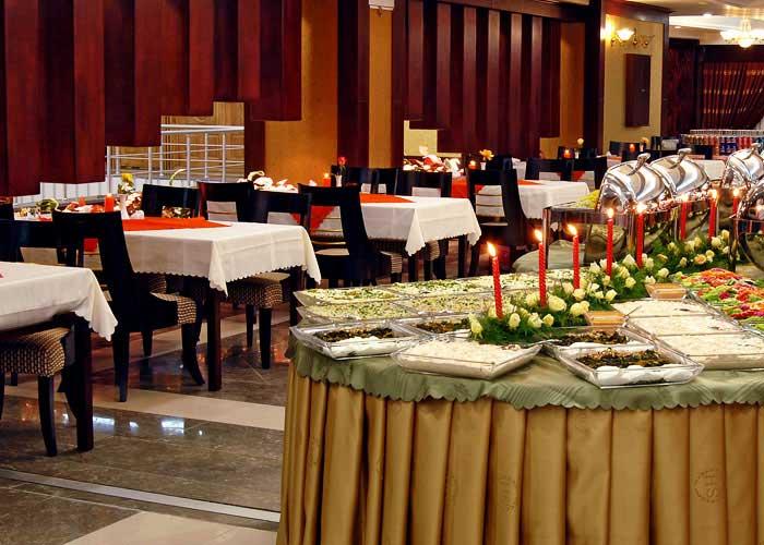 رستوران هتل شهریار تبریز