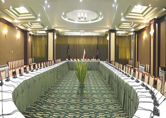 سالن جلسات هتل شهریار تبریز