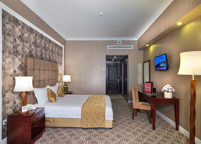 اتاق دو تخته دبل هتل شهریار تبریز