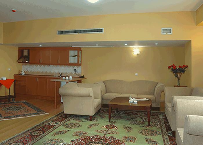 مبلمان اتاق هتل شهریار تبریز
