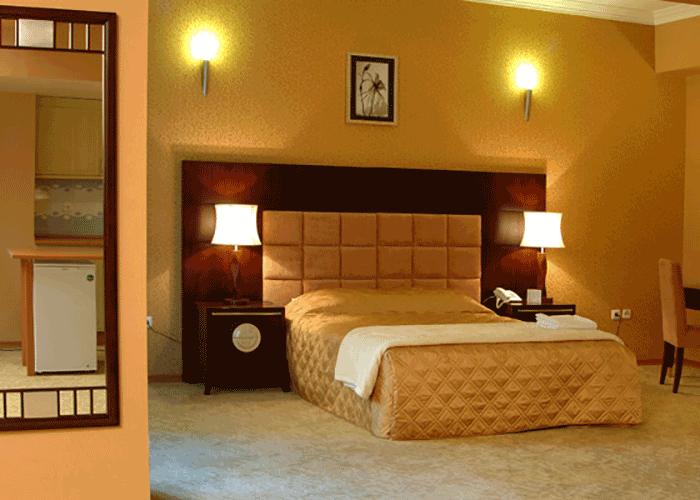 اتاق هتل شهریار تبریز