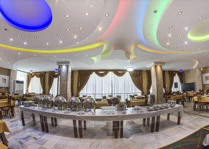 رستوران هتل آپارتمان شمس شیراز