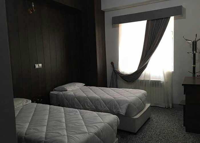 اتاق توئین هتل آپارتمان شمس شیراز