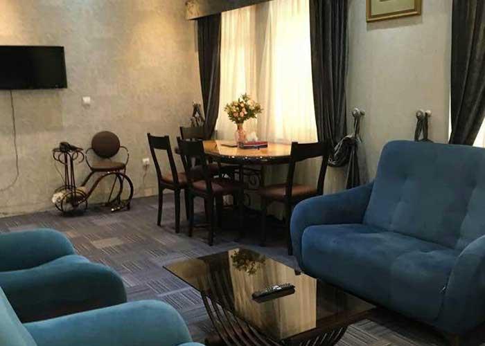 اتاق نشمین هتل آپارتمان شمس شیراز