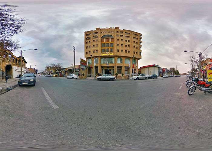 ساختمان هتل آپارتمان شمس شیراز