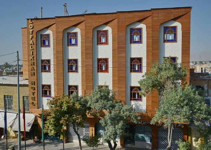 ساختمان هتل لطفعلی خان شیراز