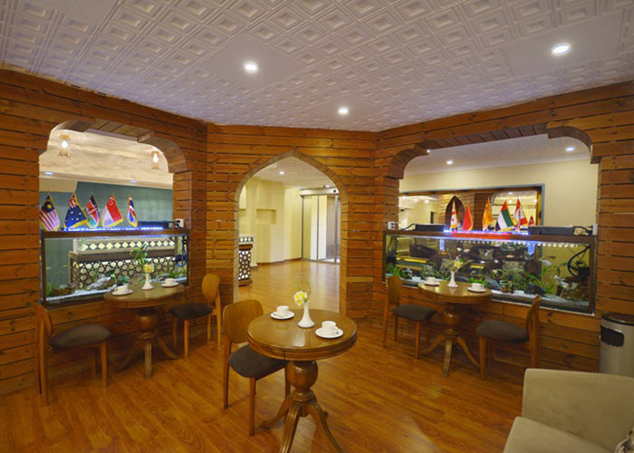 لابی هتل لطفعلی خان شیراز