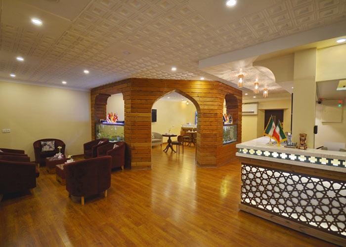 پذیرش هتل لطفعلی خان شیراز