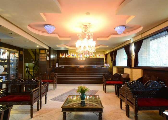 پذیرش هتل شیخ بهایی