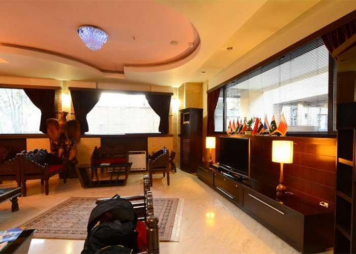 لابی هتل شیخ بهایی اصفهان