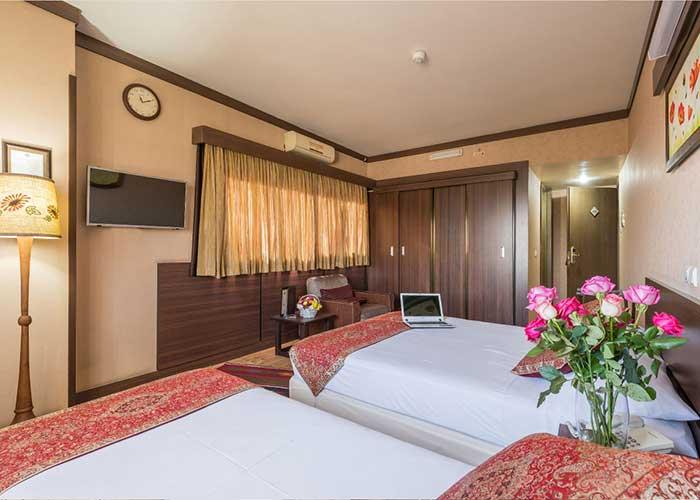 سه تخته هتل شیخ بهایی اصفهان