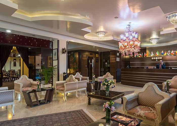 پذیرش هتل شیخ بهایی اصفهان