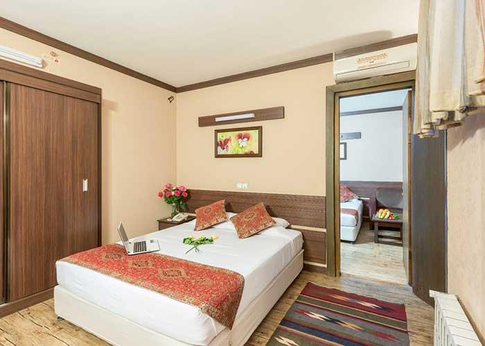 اتاق کانکت هتل شیخ بهایی