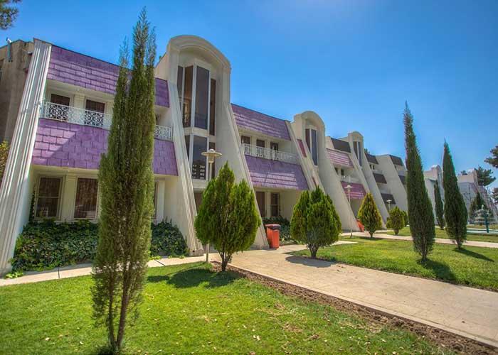 ساختمان هتل جهانگردی شیراز