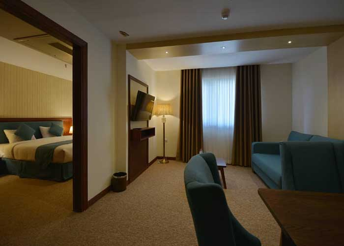 عکس اتاق هتل شیرازیس شیراز