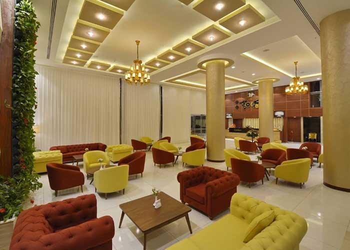 لابی هتل شیرازیس