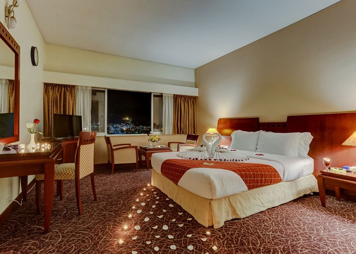 تصاویر اتاق های هتل هما شیراز
