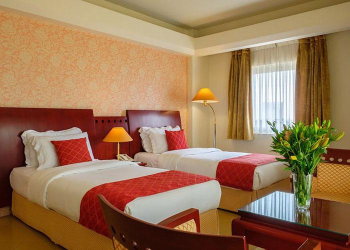 اتاق رویال هتل هما شیراز