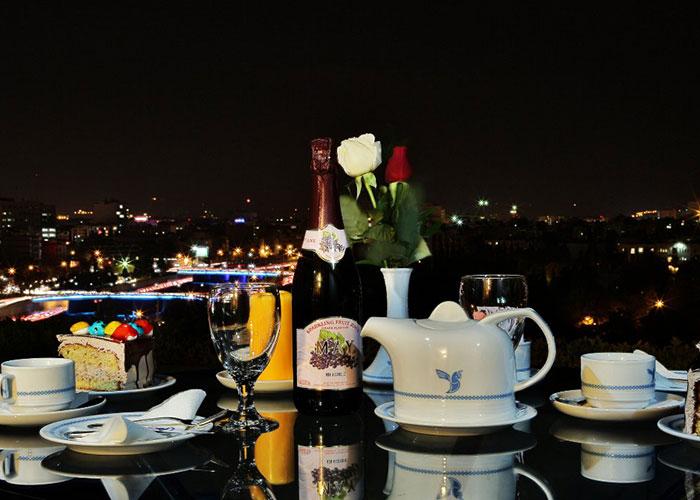 کافی شاپ هتل هما شیراز