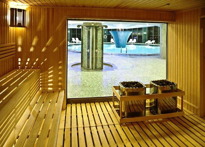 سونای خشک هتل بزرگ شیراز